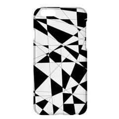 Shattered Life In Black & White Apple iPhone 6 Plus Hardshell Case