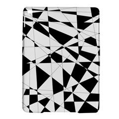 Shattered Life In Black & White Apple iPad Air 2 Hardshell Case