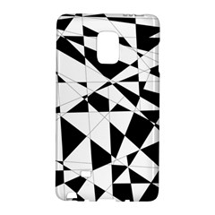 Shattered Life In Black & White Samsung Galaxy Note Edge Hardshell Case