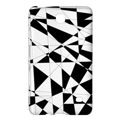 Shattered Life In Black & White Samsung Galaxy Tab 4 (7 ) Hardshell Case