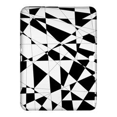 Shattered Life In Black & White Samsung Galaxy Tab 4 (10.1 ) Hardshell Case