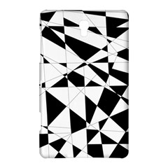 Shattered Life In Black & White Samsung Galaxy Tab S (8 4 ) Hardshell Case