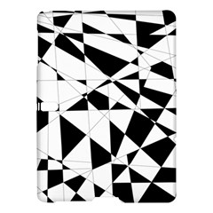 Shattered Life In Black & White Samsung Galaxy Tab S (10.5 ) Hardshell Case