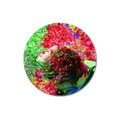 Summer Time Magnet 3  (round)