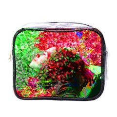 Summer Time Mini Travel Toiletry Bag (one Side)
