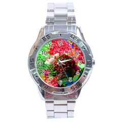 Summer Time Stainless Steel Watch