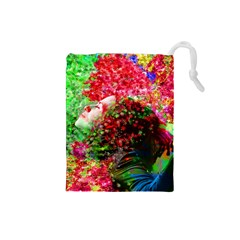 Summer Time Drawstring Pouch (Small)
