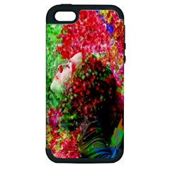 Summer Time Apple Iphone 5 Hardshell Case (pc+silicone)