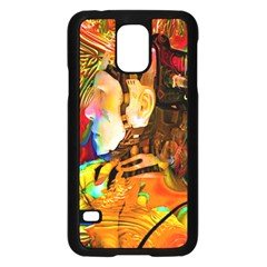 Robot Connection Samsung Galaxy S5 Case (black)