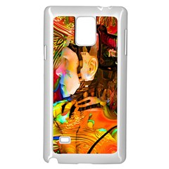 Robot Connection Samsung Galaxy Note 4 Case (white)