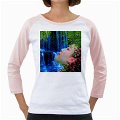 Fountain Of Youth Women s Long Cap Sleeve T-Shirt (White)