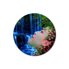 Fountain Of Youth Drink Coaster (round)