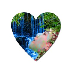 Fountain Of Youth Magnet (heart)