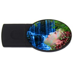 Fountain Of Youth 2gb Usb Flash Drive (oval)