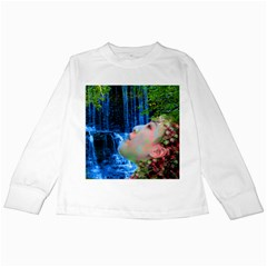 Fountain Of Youth Kids Long Sleeve T-Shirt