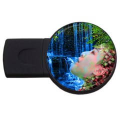 Fountain Of Youth 4gb Usb Flash Drive (round)