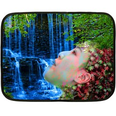 Fountain Of Youth Mini Fleece Blanket (two Sided)