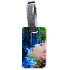 Fountain Of Youth Luggage Tag (two Sides)