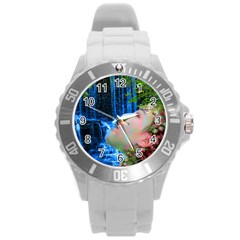 Fountain Of Youth Plastic Sport Watch (large)