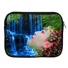 Fountain Of Youth Apple Ipad Zippered Sleeve