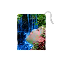 Fountain Of Youth Drawstring Pouch (small)