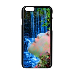 Fountain Of Youth Apple iPhone 6 Black Enamel Case