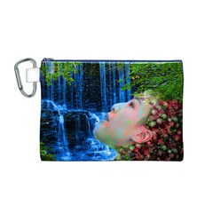 Fountain Of Youth Canvas Cosmetic Bag (Medium)