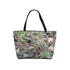 Linaria Grass Pattern Large Shoulder Bag