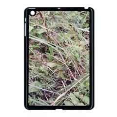 Linaria Grass Pattern Apple Ipad Mini Case (black)