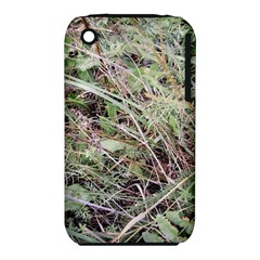 Linaria Grass Pattern Apple Iphone 3g/3gs Hardshell Case (pc+silicone)