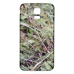 Linaria Grass Pattern Samsung Galaxy S5 Back Case (white)
