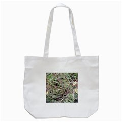 Linaria Grass Pattern Tote Bag (White)