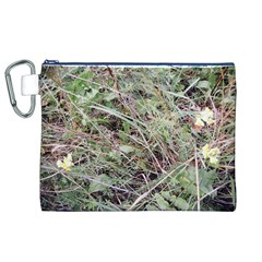Linaria Grass Pattern Canvas Cosmetic Bag (XL)