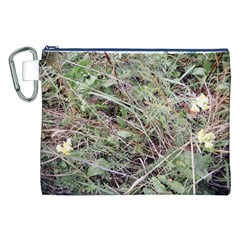 Linaria Grass Pattern Canvas Cosmetic Bag (XXL)
