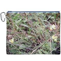 Linaria Grass Pattern Canvas Cosmetic Bag (XXXL)