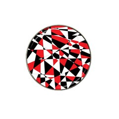 Shattered Life Tricolor Golf Ball Marker 10 Pack (for Hat Clip)