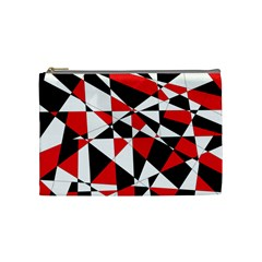 Shattered Life Tricolor Cosmetic Bag (medium)