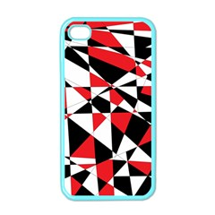 Shattered Life Tricolor Apple Iphone 4 Case (color)
