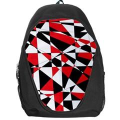 Shattered Life Tricolor Backpack Bag