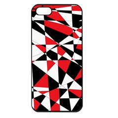 Shattered Life Tricolor Apple Iphone 5 Seamless Case (black)