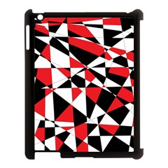 Shattered Life Tricolor Apple Ipad 3/4 Case (black)