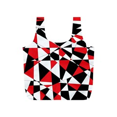 Shattered Life Tricolor Reusable Bag (S)
