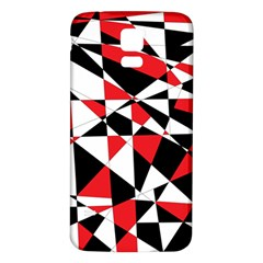 Shattered Life Tricolor Samsung Galaxy S5 Back Case (White)