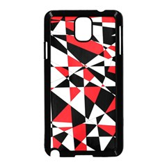 Shattered Life Tricolor Samsung Galaxy Note 3 Neo Hardshell Case (Black)