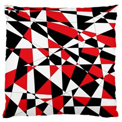 Shattered Life Tricolor Large Flano Cushion Case (Two Sides)