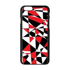 Shattered Life Tricolor Apple iPhone 6 Black Enamel Case