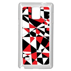 Shattered Life Tricolor Samsung Galaxy Note 4 Case (White)