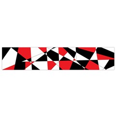 Shattered Life Tricolor Flano Scarf (Small)
