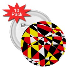 Shattered Life With Rays Of Hope 2 25  Button (10 Pack)