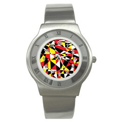 Shattered Life With Rays Of Hope Stainless Steel Watch (slim)